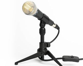 Shure SM58 Desk Lamp