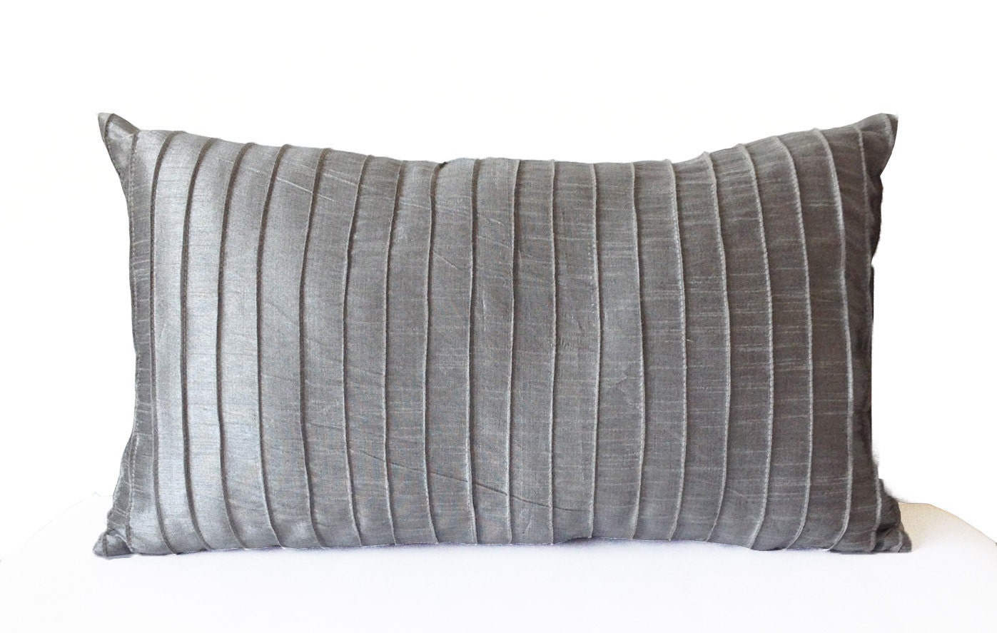 citizenry striped madera ombrelumbar and white gray the black lumbar products thecitizerny pillow pattern