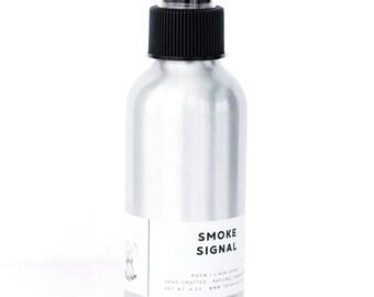 SMOKE SIGNAL // Room / Linen Spray, Birch Wood + Vanilla, 4 oz