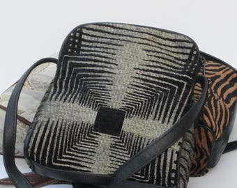 SMALL SHOULDER BAGS Fabric and Leather Pick One by Elizabeth Z Mow