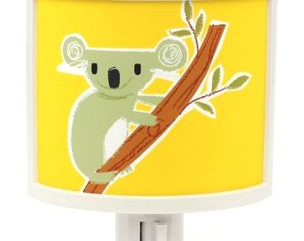 Hanging Out Koala outback Australia bear Cute Night Light Nursery Bathroom hallway Bedroom GET IT nightlight Nite Lite