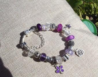 Handmade Charm Bracelet - Butterfly