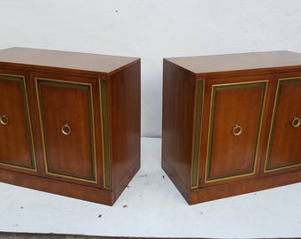 Dorothy Draper For Heritage  Cabinets A Pair .