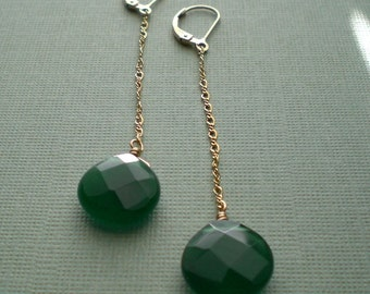 Droplets - Green Agate
