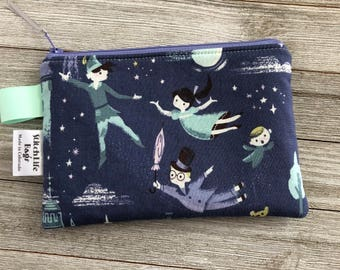 Medium Neverland Zipper Pouch | Notion Pouch | Coin Pouch