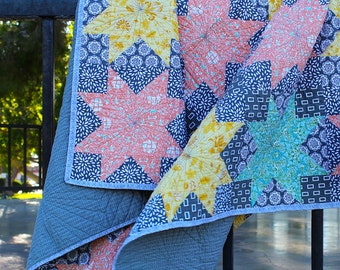 Cloudy Skies Large Lap Quilt