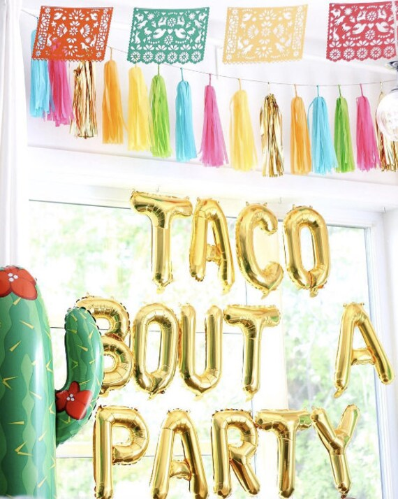 Taco Bout A Party Balloons