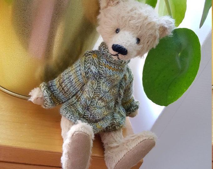 OOAK Handmade Teddybear BereguodBears Ed