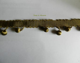 Beautiful lace tassels, Brown/khaki