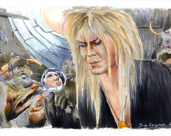 Labyrinth - The Goblin King Poster Print