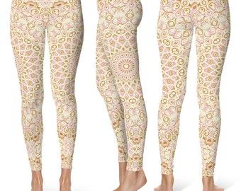 Stretchy Yoga Pants Gifts, Cute Printed Bridesmaid Leggings, Womens Pattern Leggings Tights
