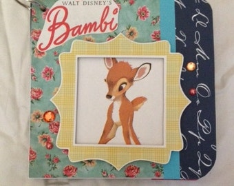 Bambi Handmade Chip Board Book