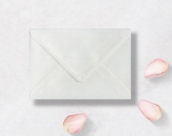C7 RSVP Envelopes Premium White Laid for RSVPs etc