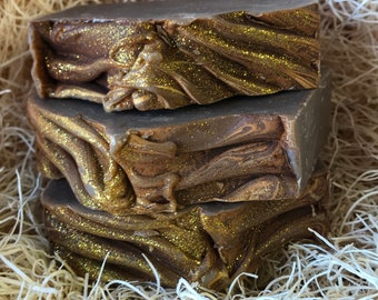 Frankincense & Myrrh Scent, Handcrafted Soap