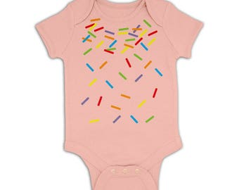 Rainbow Sprinkles baby grow