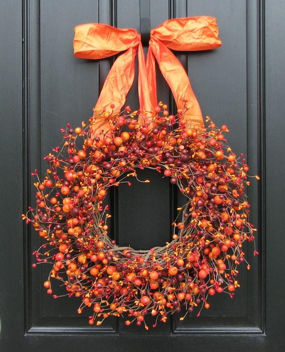 Items Similar To Fall Wreath