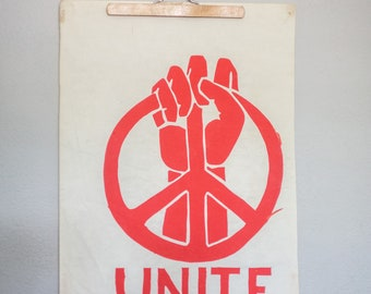 Vintage Screen Print Rights Movement posters