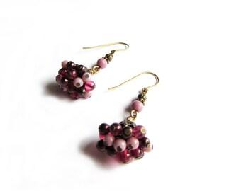 Fairy berry earrings