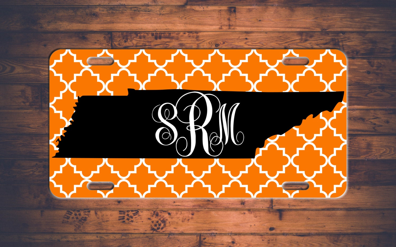 Tennessee Monogram License Plate TN Custom Car Tags