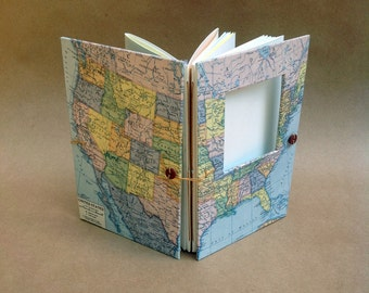 United States Travel Journal - USA Cross County Trip - Route 66 - Coast to Coast - Personalized Travel Memory Book