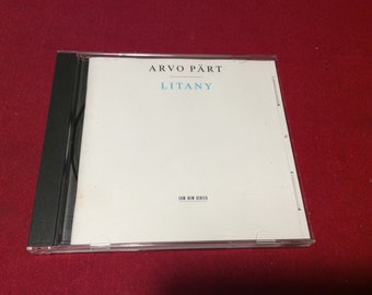 Arvo Part Litany Cd, 1996 Edition