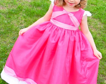 Ultimate Pink Cinderella Dress Pattern; size 3T, 4T, 5T, 6, 6x