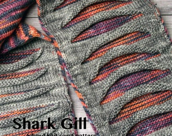 Shark Gill Pattern Digital Copy of the Shark Gill Pattern