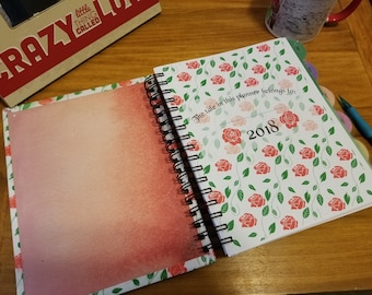 Planner | 2018 Planner | Beauty and The Beast | Disney | Weekly Planner | Hourly Planner | Custom Planner | Personal Planner | Planners