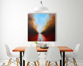 ABSTRACT PAINTING / abstract art / wall art / original painting / acrylic painting / painting / large painting / modern art /  art