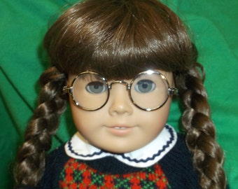 """SALE! - American Girl """" Meet MOLLY """" Pleasant Company 18"""" Doll RETIRED Good Vintage Condition Molly McIntire 1944"""