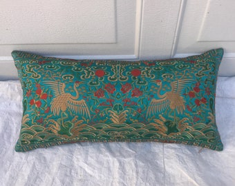 Hollywood Regency Turquoise Asian Chinoiserie Boudoir
