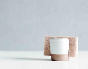 Sponge Holder - White - Ceramics - Pottery