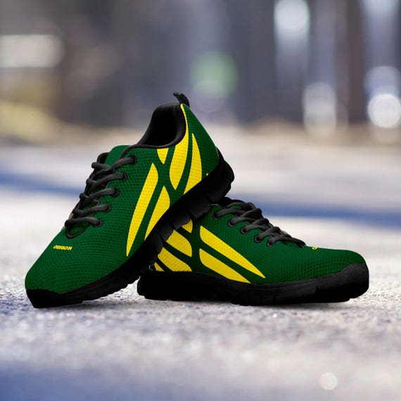 Shoes Ladies Ducks Custom Oregon Sneakers Unofficial Football Fan Trainers Black Sizes Mens wSqzYx7z