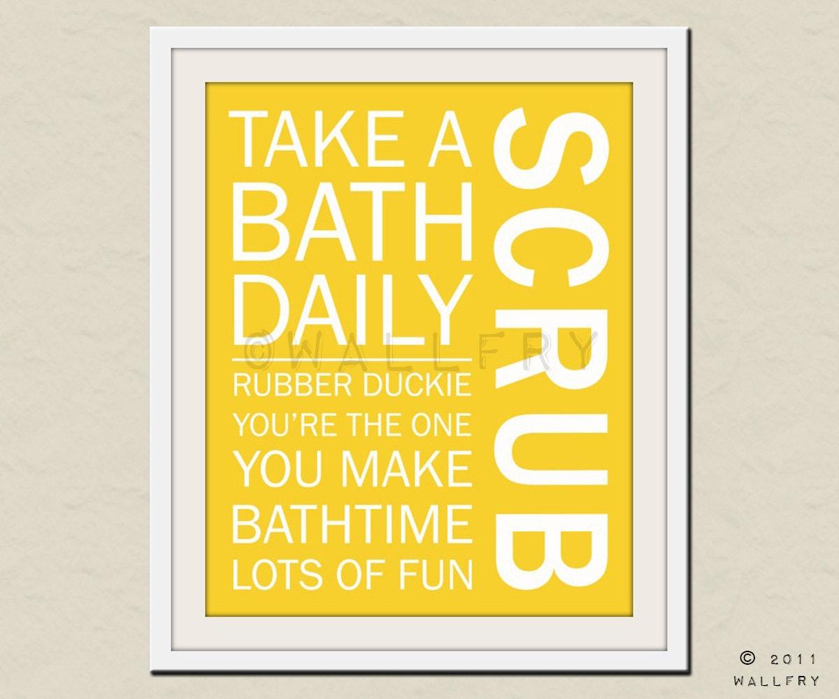 Bathroom art. Kids Bathroom rules. Bathroom prints bathroom