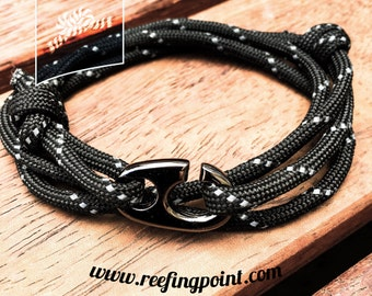Brummel hook nautical bracelets