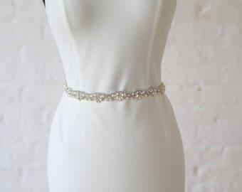 "Jaxie ""Adeline"" Bridal Belt"
