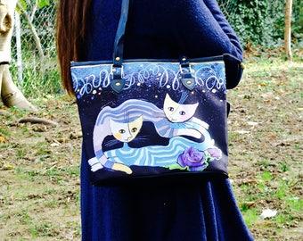 funny tote bag, animal tote bag, hip bag, boho bag, hippie bag, gypsy bag, bohemian bag, festival bag, concert bag, shoulder bag, womens bag
