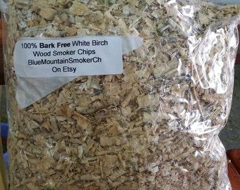 White Birch smoker chips