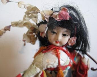 """Vintage Japanese Geisha doll """"Komachi"""" 1940s ..."""