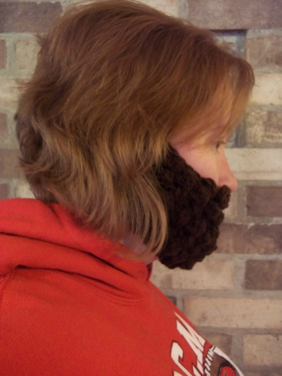 Fake Beard, Costume Beard, Baby Beard, Cosplay Beard, Child Kid Beard, Adult Beard, Halloween Beard, Lumberjack Costume, Crochet, Knit Beard