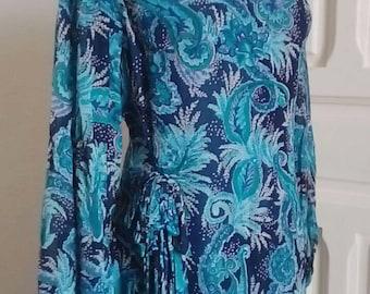70s dress maxi vintage