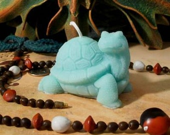 Turtle 3 Beeswax Turtle Candles Your Choice Of Color
