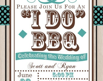 i do bbq barbeque party invitations-2082