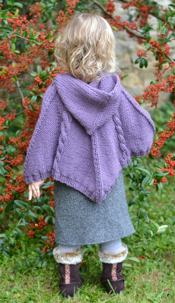 KNITTING PATTERNS for babies baby poncho cabled poncho
