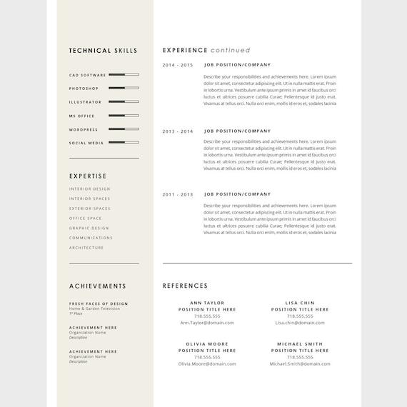 Perfecto Reanudar Imprimible Imágenes - Colección De Plantillas De ...