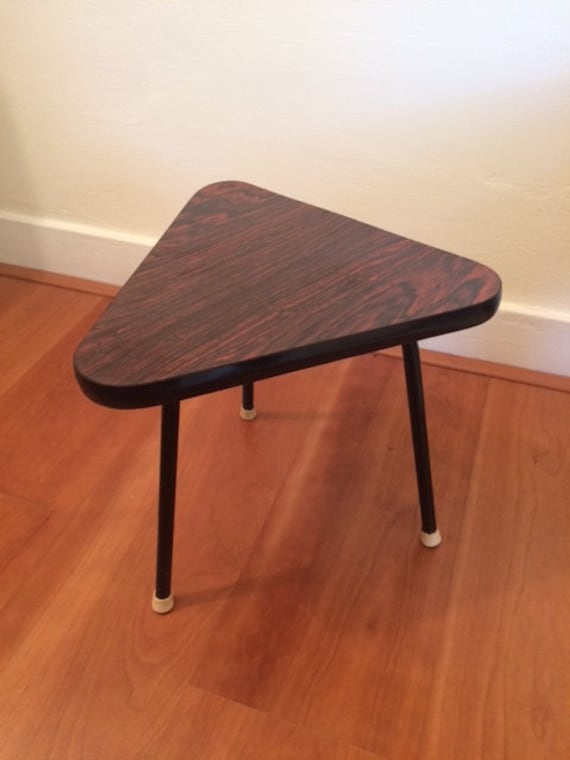 Table dappoint vintage plante stand table basse tabouret - Table plante ...