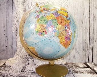 "Vintage Repogle Globe, World Nation Series, 12"" World Globe   -  D"