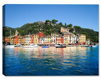 Portofino Paradise - Fine Art Canvas Print - Indoor Art or Outdoor Art