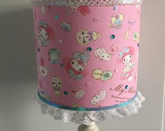 My Melody Alice in Wonderland handmade lampshade