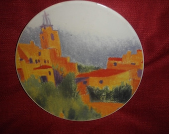 Certified International Provence Plates by Linda Montgomery